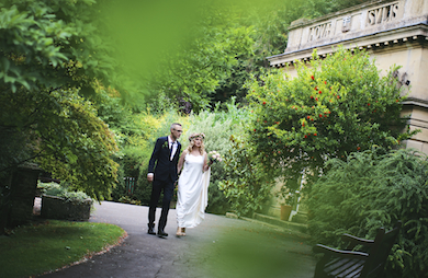 Ric and Marianne - Bath Botanical Gardens